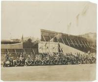 "image of (Baseball photograph): ""Baseball Parade June 12th [1909] New York & Cincinnati Teams in Franklin Cars"""