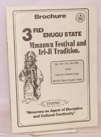 image of Brochure 3rd Enugu State Mmanwu Festival and Iri-Ji Tradition; Theme: