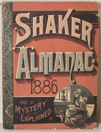 New York, 1886. First Edition. Stapled Pamphlet. Very Good binding. The Almanac of the year 1886, pu...
