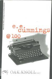 E.E. CUMMINGS @ 100