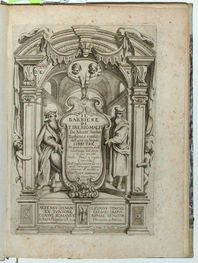 Naples: Ottavio Beltrano, 1626. Very rare first edition of this handsomely illustrated work on barbe...