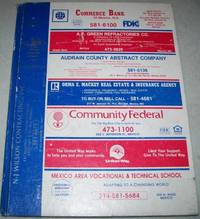Mexico Missouri 1986 City Directory