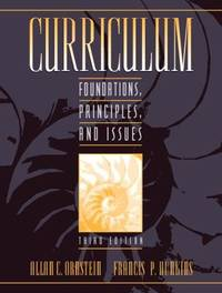 image of Curriculum : Fundations, Principles, and Issues