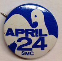 April 24 / SMC [pinback button]