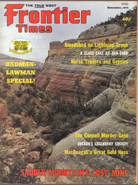 image of A Vintage Issue of Frontier Times Magazine for November 1973