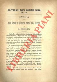 Saccoia. Nuovo Genere di Gasteropodi terziari italo-francesi.