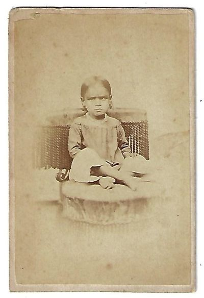 Carte de visite photograph of Frances Coryell (here spelled Coryel),