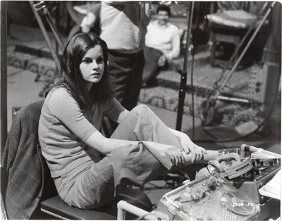 Universal City: Universal Pictures, 1969. Two vintage borderless photographs of Genevieve Bujold fro...