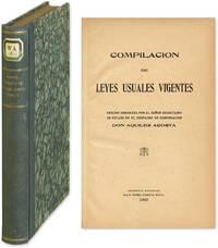 Compilacion de Leyes Usuales Vigentes