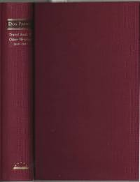 image of Travel Books_Other Writings 1916-1941