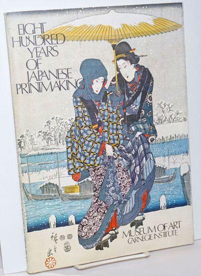 Pittsburgh: Museum of Art, Carnegie Institute, 1976. Paperback. 126p., wraps, 8. 25 x 11.5 inches, c...