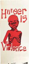 Hunger is Violence (poster)