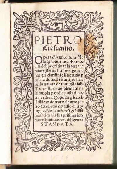 Venice: Bernardino de' Viani, 1538. Good/A sixteenth-century Italian translation of