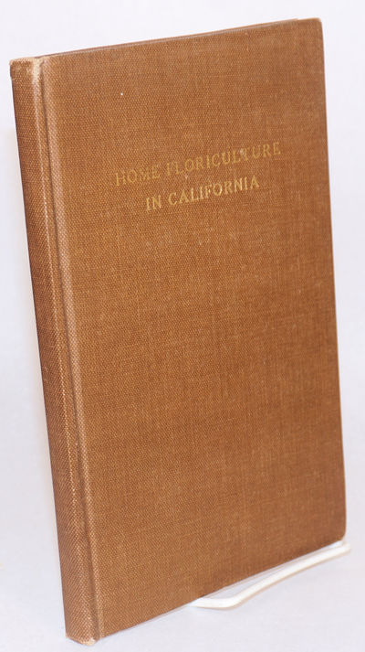 Berkeley: The College of Agriculture, UC Berkeley, 1933. 168p., footnotes, tables, illustrations, ph...