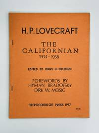 H.P. Lovecraft: THE CALIFORNIAN 1934-1938