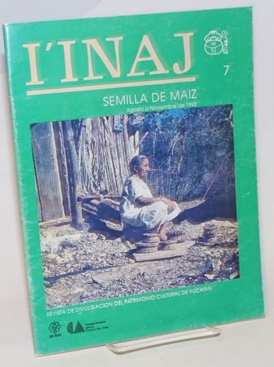 Yucatan: INAH, 1992. Magazine. 48p., 8x10.5 inches, text in Spanish, photos, poetry, essays, notes, ...