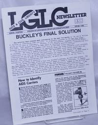 image of LGLC Newsletter: #14, Spring 1986: AIDS_Civil Liberties; Buckley's Final Solution