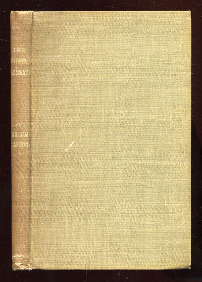 New York: Duffield, 1906. Hardcover. Very Good. First edition. Gift inscription, bookstore label els...