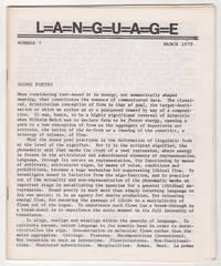 L=A=N=G=U=A=G=E 7 (Volume 2, Number 1, March 1979)
