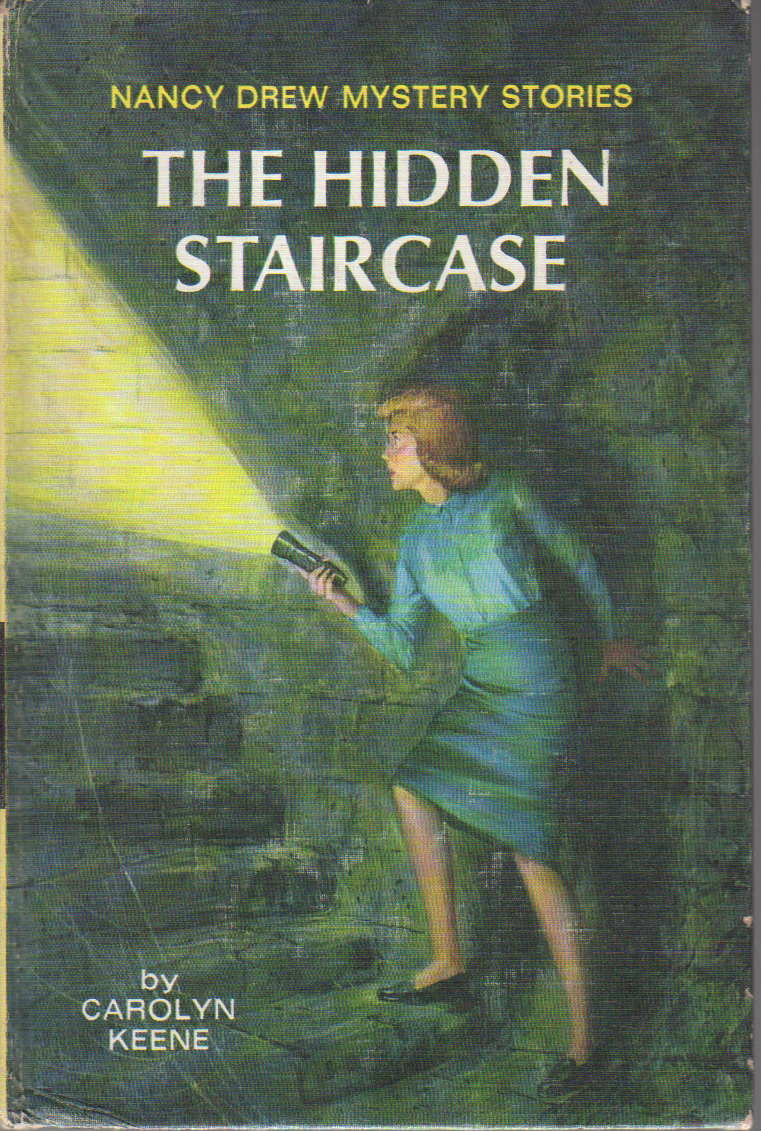 Superieur THE HIDDEN STAIRCASE: Nancy Drew Mystery Stories 2. By Carolyn Keene    Hardcover   (c 1959.)   From Bookfever.com, IOBA And Biblio.com