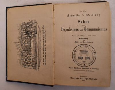 New York: Deutsche Verlagsanstalt, 1879. Hardcover. VG- spine is bald, light to moderate corner and ...