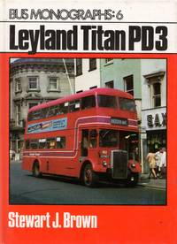 image of Bus Monographs: No.6 Leyland Titan PD3