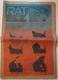 RAT Subterranean News. June 5-19th by Various Authors - 1970 - from Mare Booksellers (SKU: 010785)