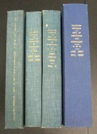 Reprints of Articles Published by Members of the Department of Obstetrics and Gynecology, University of Michigan (4 vols.)