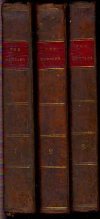 The Rambler, in three volumes. [History of a young woman that came to London for a service; Remarks on masquerades; Uneasiness & disgust of female cowardice; A mother her daughter's rival; Criticism on Milton; Advice to unmarried Ladies; etc]