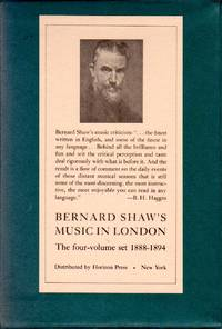 image of Music in London - The Four-Volume Set, 1888-1894 [HARDCOVERS in SLIPCASE]