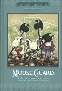 Mouse Guard Labyrinth Other Stories Fcbd 2014 Archaia Hardcover Comic Book
