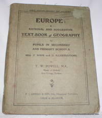 Europe; A Rational and Suggestive Text-Book of Geography for Pupils in Secondary and Primary Schools