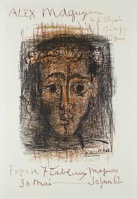 ALEX MAGUY, GALERIE DE L'ELYSEE, 69 RUE DU FAUBOURG ST.-HONORE, EXPOSE 7 TABLEAU MAJEURS, 30 MAI-30 JUIN 62. 1962