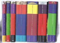 SEVEN Volumes: Harry Potter and the Philosopher's Stone ( AKA: Sorcerer's Stone ) ---with Chamber of Secrets ---with Prisoner of Azkaban ---with Goblet of Fire ---with Order of the Phoenix; Half Blood Prince; Deathly Hallows --book 1, 2, 3, 4, 5, 6, 7