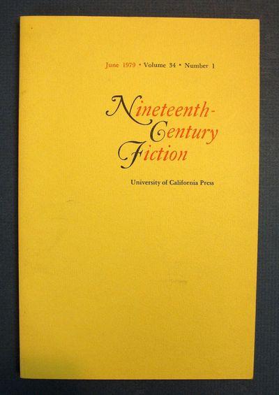 Berkeley: University of California Press, 1979. Printed yellow wrappers. VG+.. pp 1 - 19. 8vo.