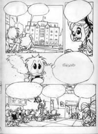 Vitale Mangiatordi PP8 Paperino Paperotto (Donald Duckling) #8 Page 22 Original Comic Art