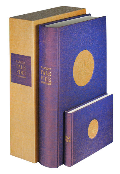 2 vols. San Francisco: Arion Press, 1994. 2 vols, large thick 8vo and oblong 12mo, 284, (1, bio. and...