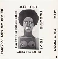 Faith Ringgold, Artist, Lecturer: Resume 1971