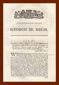 PAPER ACTS, 1814-1817. An interesting selection of 3 original Acts of Parliament