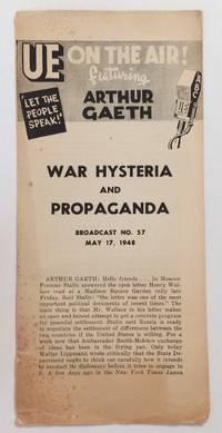 image of War hysteria and propaganda. Broadcast no. 57 (May 17, 1948)
