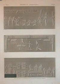 Erment (Hermonthis.) Bas-Reliefs Sculptes Dans Le Sanctuaire Du Temple