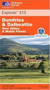 image of Dumfries and Dalbeattie (Explorer Maps)