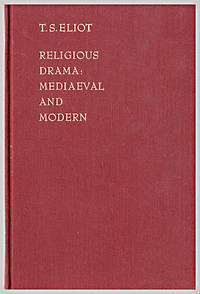 image of RELIGIOUS DRAMA: MEDIAEVAL AND MODERN