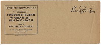 McCarthy Era Congressional Propaganda