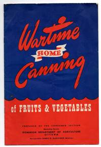 image of Wartime Home Canning of Fruits & Vegetables