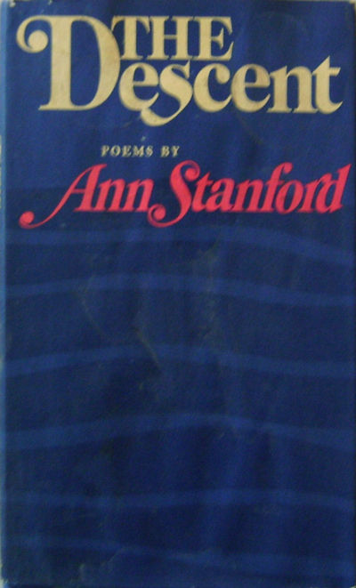 New York: Viking Press, 1970. First edition. Hardcover. Very Good/fair. 8vo. 83 pp poetry collection...