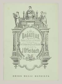 Bagatelle Opéra Comique en Un acte de H. Crémieux et E. Blum. [Piano-vocal score]