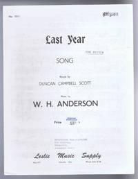 Last Year, Song. No. 7011