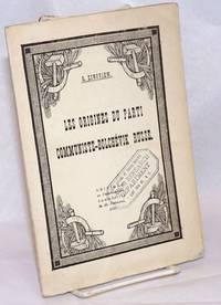 image of Les origines du parti communiste-bolchévik russe