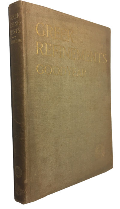 London: The Yale University Press, 1912. 1st ed. Hardcover. Good. frontis, photos, index, xx, 227p. ...